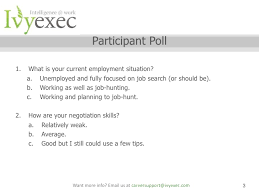 ivy exec webinar salary negotiation webinar with sarah stamboulie