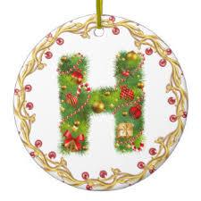 the letter h ornaments keepsake ornaments zazzle