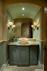 Vanity Powder Room Powder Room Vanities Powder Room Contemporary With Walls Conce