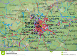 Moscow Map Atlas Map Moscow Royalty Free Stock Image Image 21415636