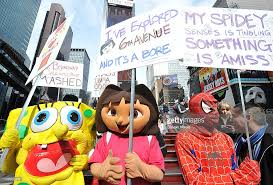 characters from the macy s thanksgiving day parade rally to keep