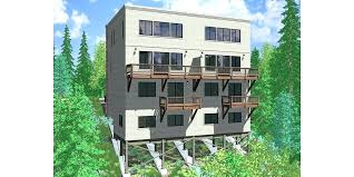sloping lot house plans house plans for sloping lots exciting pmok me