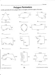 10 best images of perimeter circumference and area worksheets