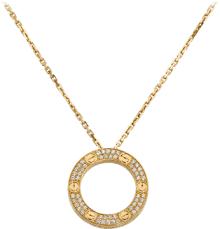 cartier heart diamond necklace images Love necklaces png