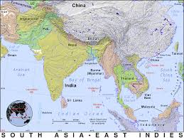 Map Of South Asia by South Asia Public Domain Maps By Pat The Free Open Source