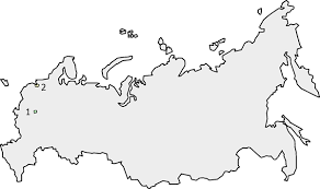 european russia map cities outline of russia