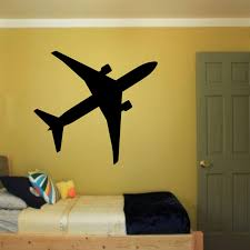 Nursery Airplane Decor Dctop Airplane Wall Decals Bedroom Vinyl Adhesive Stickers
