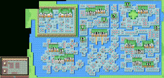 Final Fantasy 2 World Map by Final Fantasy Advance Whisperwind Cove