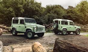 vintage land rover defender land rover defender heritage limited edition