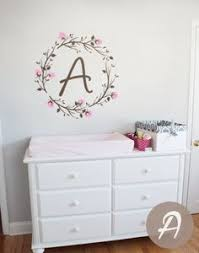 Personalized Wall Decals For Nursery Name Nursery Wall Decal Custom Monogram Decals Personalized Wall