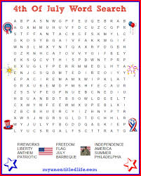6 best images of july word search free printable 4th of july