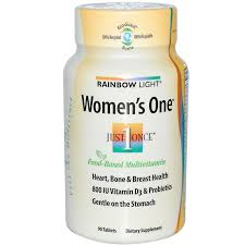 rainbow light just once prenatal one rainbow light just once women s one food based multivitamin 90
