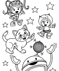 awesome umizoomi coloring pages printable 1505 unknown