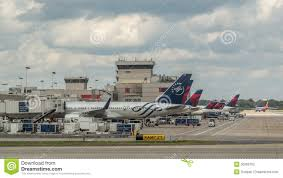 Atlanta Airport Map Delta by Delta Planes In Atlanta Airport Editorial Photography Image