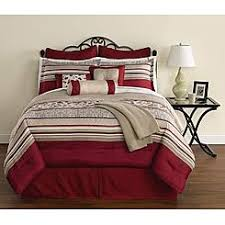 White And Red Comforter Comforters Comforter Sets Sears