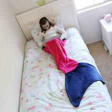 girls mermaid bedding children u0027s mermaid tail blankets seatail