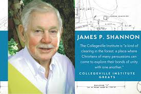 A Place Jim Collegeville Institute Greats Jim P Shannon