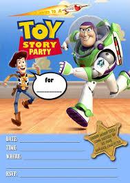 Sample Of Birthday Invitation Card For Kids Kids Birthday Invitations Toy Story Templates Birthday Invitations