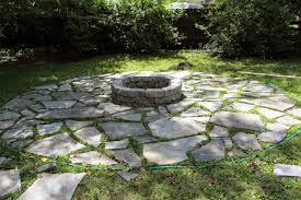Flagstone Firepit Awesome Pit Flagstone Flagstone Patio Pit