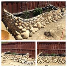 Rock Garden Planters by Giant Planter Made Of Re Used Rocks 12 Steps With Pictures