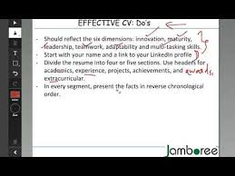 Resume For Mba Application How To Write A Strong Cv For Mba Applications Youtube