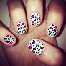 leopard print nail art easy best nail 2017 animal print nail art