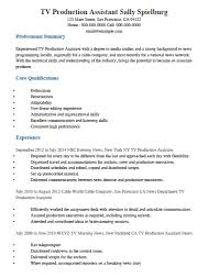 Production Manager Cover Letter Sample Production Resume Sample Resume For Production Manager Tv