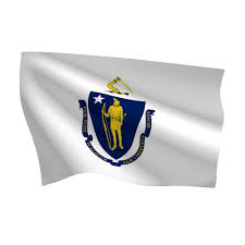 State Flag Of Massachusetts Indoor Massachusetts Ceremonial Flag Set Flags International