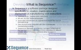 authoring work instructions with sequence software youtube