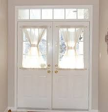 Curtains For Doors With Windows Window Curtain Door Half With Regard To For Curtains Designs And