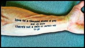 music and lyrics tattoos u2022 contrariwise literary tattoos
