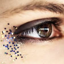 new york fashion week fall 2016 the biggest glitter makeup moments