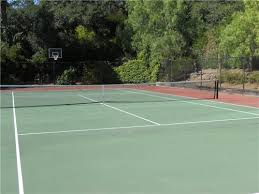 Sports Courts For Backyards Tennis Courts U2013 Backyard Games Landscaping Network