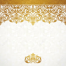 Victorian Design Vector Ornate Seamless Border In Victorian Style Gorgeous Element
