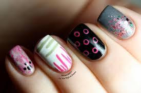 a dozen easy nail art patterns the digit al dozen
