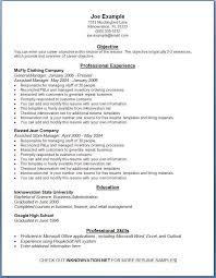 Free Chronological Resume Template Microsoft Word Resume Templates Free Printable Resume Template And Professional
