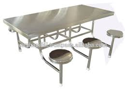 stainless steel table and chairs stainless steel canteen table chair buy stainless steel folding