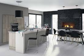 salon et cuisine ouverte amenagement salon cuisine galerie avec deco salon cuisine ouverte