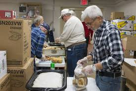 a busy day for lockport s soup kitchen local news
