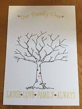 fingerprint tree guest books u0026 pens ebay