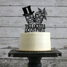 sugar skull cake topper sugar skull wedding cake topper