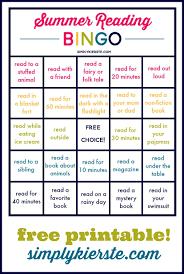 printable thanksgiving bingo summer reading bingo simply kierste design co