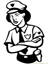 printable police coloring pages kids coloring