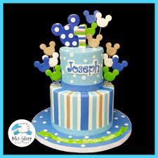 baby mickey 1st birthday baby mickey 1st birthday cake nj blue sheep bake shop