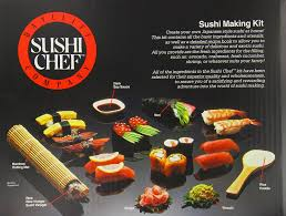 amazon com sushi chef sushi making kit gourmet seafood gifts
