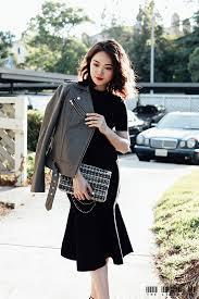 皮衣的5种穿法 3 casual elegant dress code u2013 the little ph a