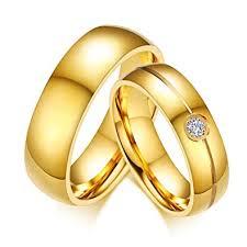 simple wedding rings images Fashion month simple wedding rings for women men elegant aaa cz jpg