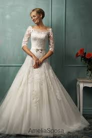 wedding gowns with sleeves wedding dresses with sleeves obniiis