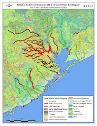 Map Of Galveston Water And Sediment Quality