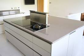 kitchen island extractor handleless kitchen island with pop up extractor fan kitchen